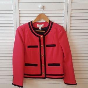 J Crew Lady jacket in double - serge wool
